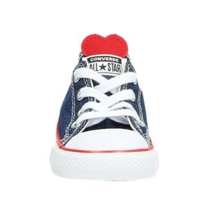 Converse Chuck Taylor Blue/Red Heart Sneakers 5